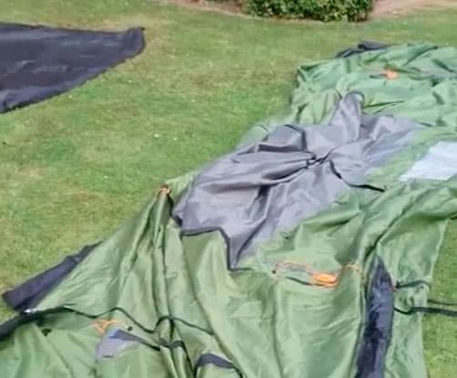 How to Dry a Wet Tent