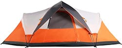 MobiHome 6 Person Instant Dome Tent