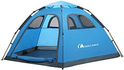 Moon Lence 4 Person Instant Family Pop Up Tent