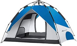 Moon Lence 4 Person Instant Water Resistant Tent